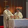 IMG_9308 - Fr. Brian Paulson, SJ and Fr. Timothy Kesicki, SJ prepare the altar